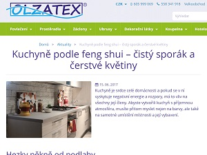 Reference Olzatex - Copywriting Ostrava - Eliška Reznerová