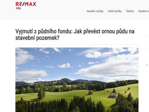 Reference RemaxAlfa - Copywriting Ostrava - Eliška Reznerová